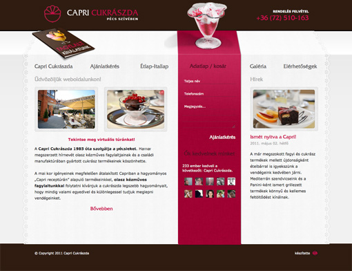 Capri confectionery