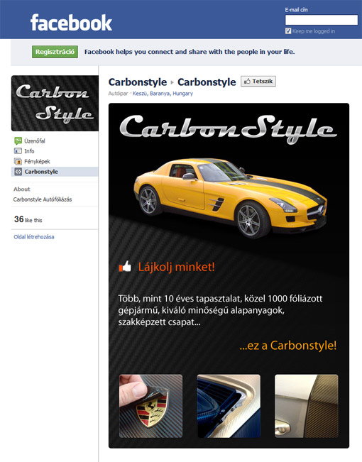 Carbonstyle Facebook
