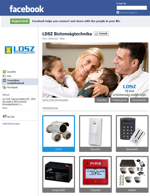 LDSZ security systems Facebook