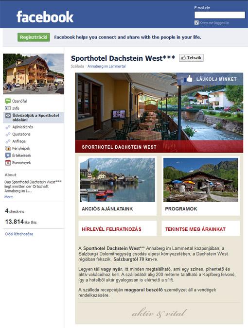 Sporthotel Dachstein West Facebook