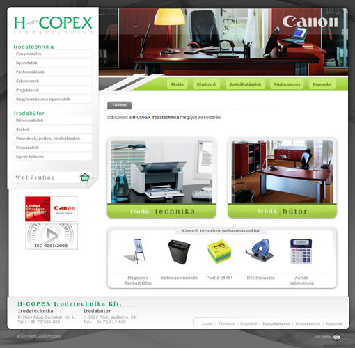 H-Copex irodatechnika