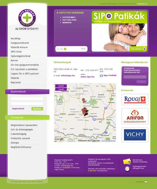 SIPO pharmacies